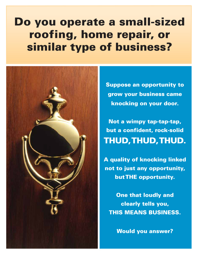Opportunity Knocks Roofkit Roofing